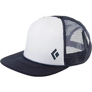 Black Diamond Flat Bill Trucker Cap weiß/dunkelblau