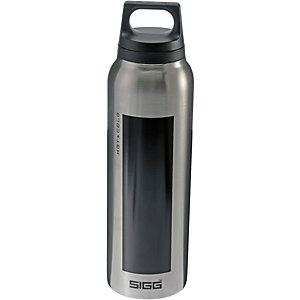 SIGG Hot & Cold Isolierflasche schwarz/silberfarben