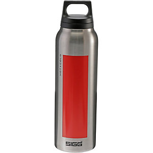 SIGG Hot & Cold Isolierflasche rot/silberfarben