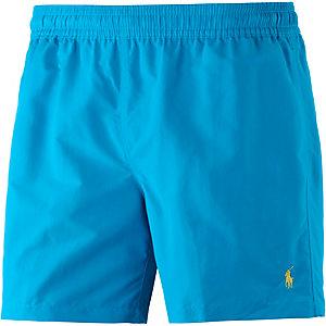 Polo Ralph Lauren Hawaiian Swim Badeshorts Herren hellblau