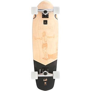 "Globe Big Blazer 32"" Skateboard-Komplettset beige"