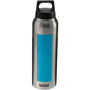 SIGG Hot & Cold Isolierflasche aqua/silberfarben