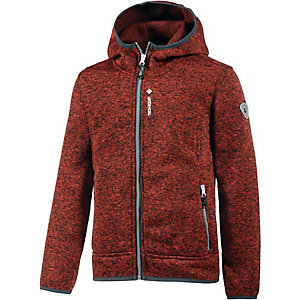 KILLTEC Strickfleece Jungen orange