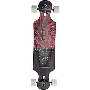 Madrid Fireworks Longboard-Komplettset schwarz