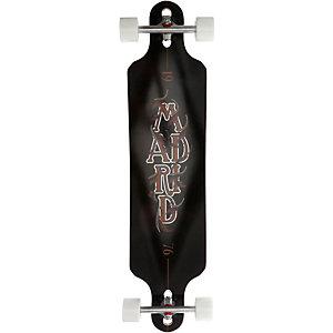 Madrid Stacked Longboard-Komplettset schwarz