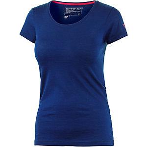 ORTOVOX Clean Funktionsshirt Damen blau