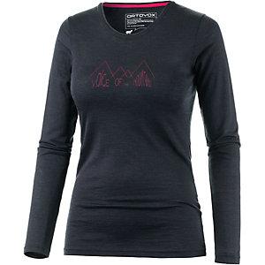 ORTOVOX Ridge Funktionsshirt Damen schwarz