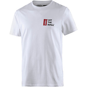 Vans Off The Wall T-Shirt Herren weiß