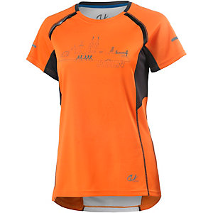 unifit Köln Laufshirt Damen orange