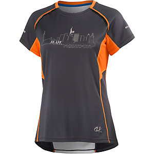 unifit Frankfurt Laufshirt Damen dunkelgrau