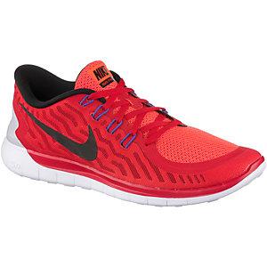 Nike Free 5.0 Laufschuhe Jungen rot