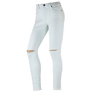 Volcom High&Waisted Skinny Fit Jeans Damen light denim