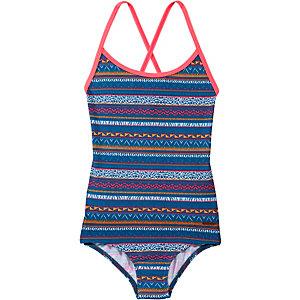 Protest Badeanzug Mädchen blau/bunt