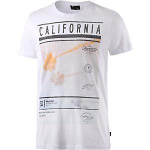 Protest Coast Printshirt Herren weiß