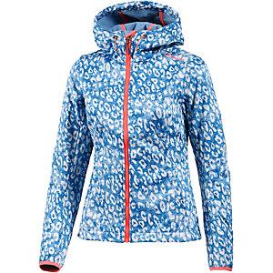 Chiemsee Lucija Softshelljacke Damen blau/weiß/leo