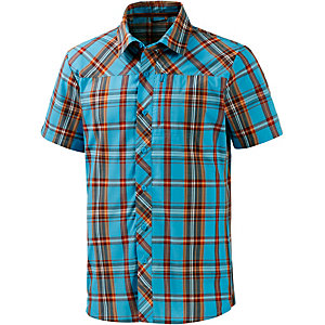 Bergans Marstein Kurzarmhemd Herren blau