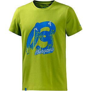 Bergans Forest Printshirt Herren grün