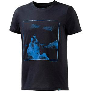 Bergans Svolvaergeita Printshirt Herren dunkelblau