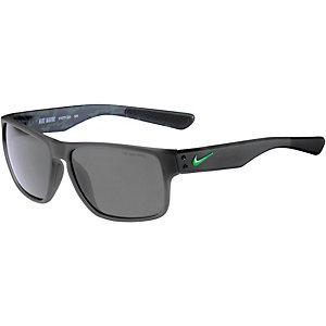 Nike Mavrk Sonnenbrille MATTE DEEP PEWTER/GREEN PULSE