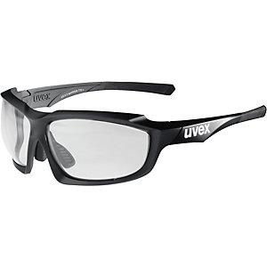 Uvex Sportbrille black mat