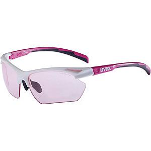 Uvex Sportstyle Sportbrille white pink