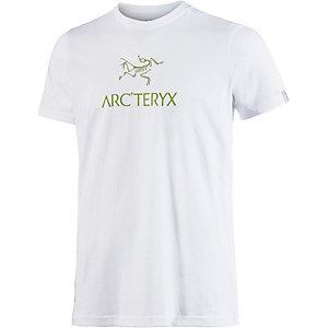 Arcteryx Arc´word SS Crew Printshirt Herren weiß
