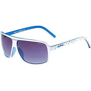 ALPINA Sonnenbrille white dots-blue
