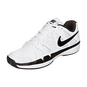 Nike Air Vapor Advantage Leather Tennisschuhe Kinder weiß / schwarz
