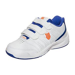 K-Swiss Ultrascendor Omni Strap Tennisschuhe Kinder weiß / blau / orange