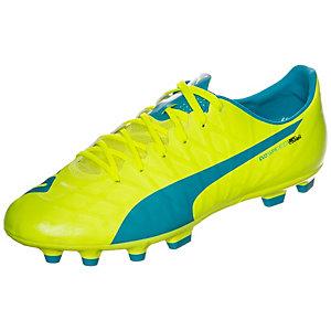 PUMA evoSPEED SL-S Fußballschuhe Herren neongelb / blau