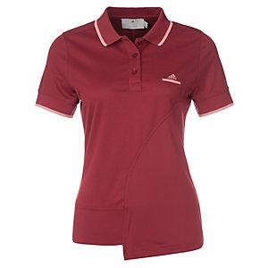 adidas Stella McCartney Barricad Tennis Polo Damen dunkelrot