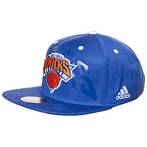 adidas New York Knicks Anthem Cap Herren blau / orange