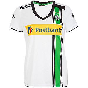 KAPPA Borussia Mönchengladbach Fußballtrikot Damen weiß / schwarz