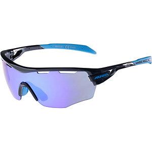 ALPINA Sportbrille black-cyan