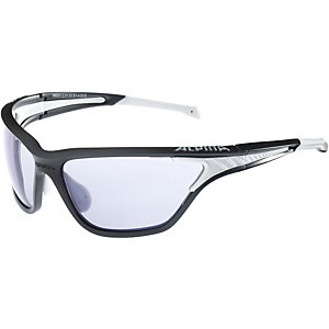 ALPINA Sportbrille black matt-white