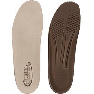 MEINDL Leder Weichtritt Fußbett Einlegesohlen braun