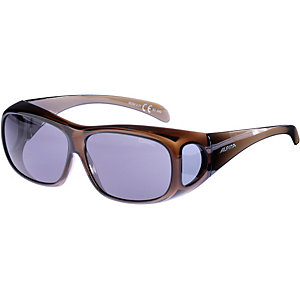 ALPINA Sonnenbrille black transparent