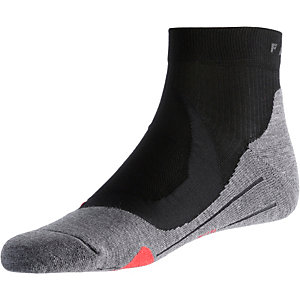 Falke RU4 Cushion Short Laufsocken Herren schwarz
