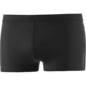 Calvin Klein Kastenbadehose Herren schwarz/grau