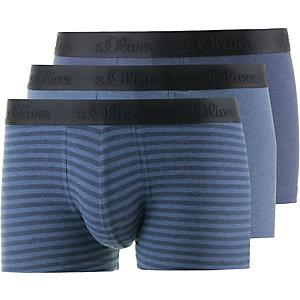 S.OLIVER Boxer Herren blau/gestreift