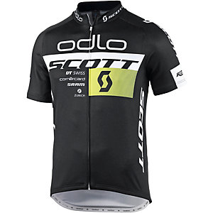 Odlo Team Replica Fahrradtrikot Herren schwarz/weiß
