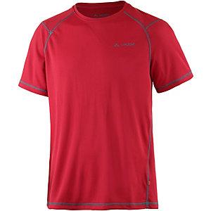 VAUDE Hallett UV-Shirt Herren rot
