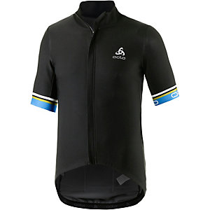 Odlo Vlaanderen Fahrradtrikot Herren schwarz/blau