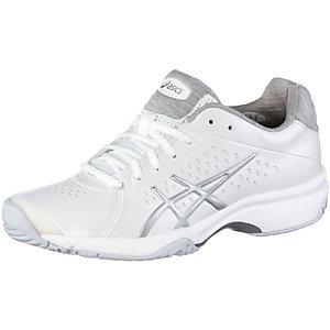 ASICS Gel-Clio Tennisschuhe Damen weiß/silber