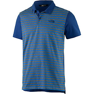 The North Face Contour Poloshirt Herren blau