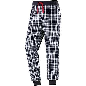 TOM TAILOR Pyjamahose Herren dunkelblau/weiß
