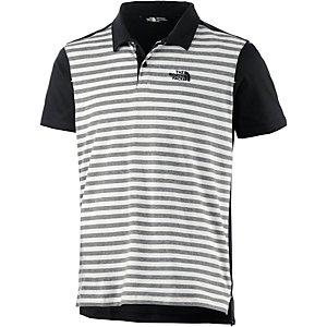 The North Face Contour Poloshirt Herren schwarz/weiß