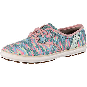 CATERPILLAR Fray Sneaker Damen blau/rosa