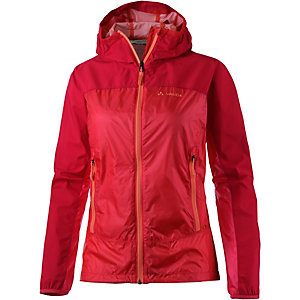 VAUDE Croz Windshell Windbreaker Damen rot