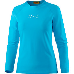 iQ UV-Shirt Damen türkis
